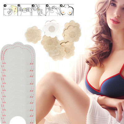 Invisible Bra 10x Breast Lifts Nipple Cover Boob Tape Wedding Instant Lift AU