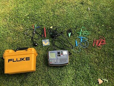 Fluke 6200 Portable Appliance Tester PAT with Accessories and Case Free Post