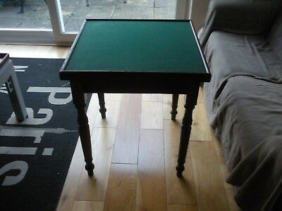 Antique Victorian Edwardian Card or Games table Cheltenham collection