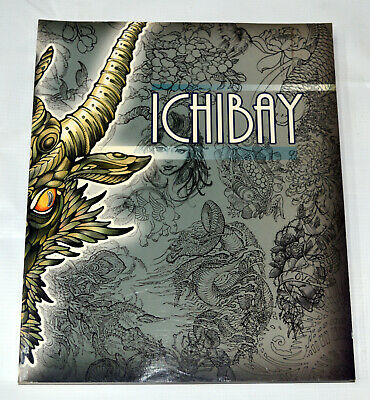 Ichibay, 2009 tattoo drawing book, First Edition