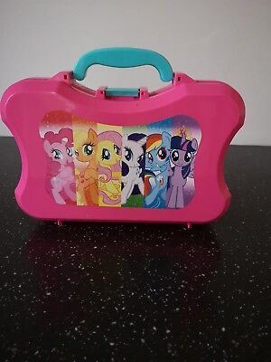 My Little Pony Lunch Box Pink Plastic No Drink Bottle