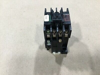 100V Coil Mitsubishi Magnetic Contactor Warranty Used Type# S-K21