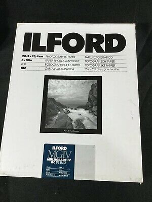 ILFORD Multigrade IV RC Deluxe Paper Pearl Photographic Paper 100 Sheets