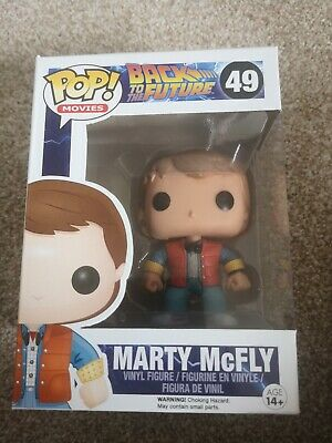 Funko Pop Vinyl Marty Mcfly 49 Back To the Future