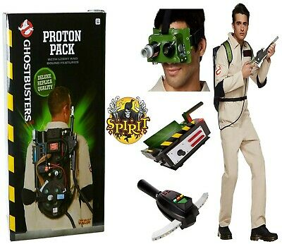 Spirit Halloween Ghostbusters Replica Proton Pack Trap PKE Meter Ecto Goggles UK