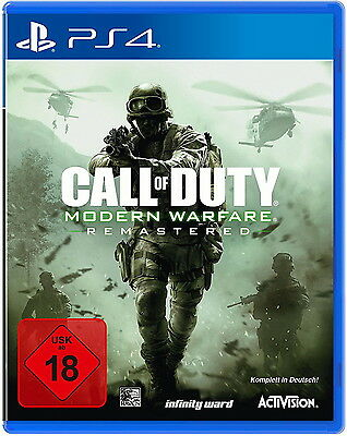 Call Of Duty: Modern Warfare Remastered (Sony PlayStation 4, 2017)