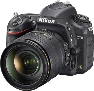 Nikon D750 FX-format DSLR w/24-120mm Lens, 24mp, 6.5fps, Wi-Fi, HD, Tilt LCD
