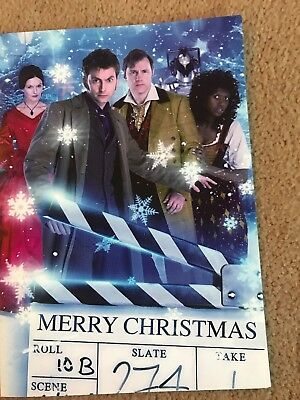 Very Rare Dr Who Confidential / Torchwood Production Team Xmas Card