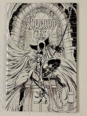 Spawn #300 Campbell B&W Variant Image Comics Todd Mcfarlane 1st She-Spawn