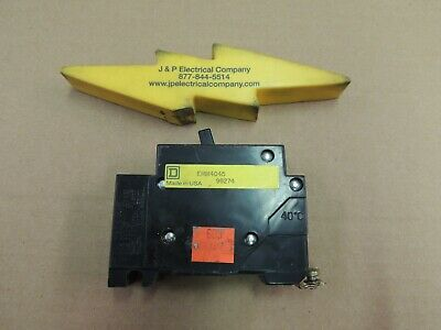 Ehb14045 Square D, Circuit Breaker, Used, No Chips