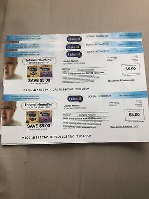 Enfamil NeuroPro Coupons $5 Checks - $100 Worth  Exp.11/30/19-1/31/20-4/30/20