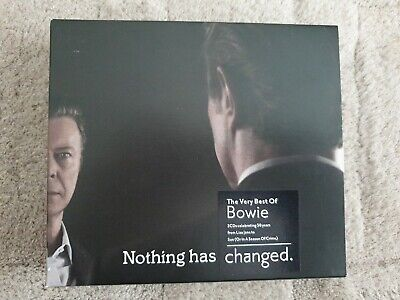 David Bowie : Nothing Has Changed: The Very Best of Bowie 3CD Deluxe Edition