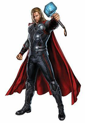 Marvel Superheroes The Avengers Thor Giant Wall Decal Sticker Cover Decor