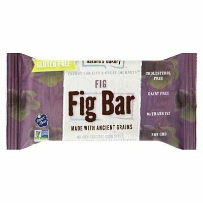 Natures Bakery Bar Fig Gf 6Ct 12 Oz Pack of 6