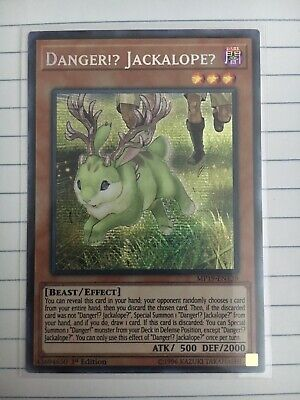 YUGIOH Danger!? Jackalope? - MP19-EN139 - Prismatic Secret Rare - 1st Edition NM