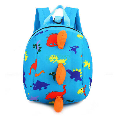 Cartoon Dinosaur Safety Harness Strap Bag With Reins Baby Toddler Kids  Backpack