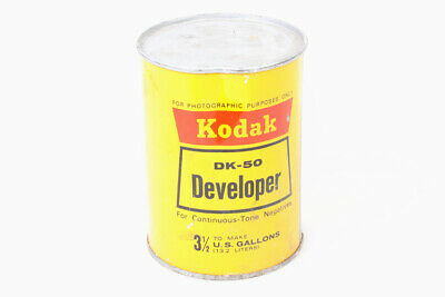 DK-50 Film Developer Powder and Developer Cleaner Set of 2 CANS