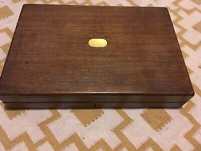 Antique Cigar Box, Old Wood Case