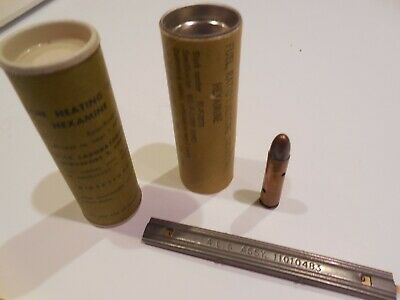 Vintage WWII US Military HEXAMINE Fuel Heating Tablts, Rations, 2 Each, Dummy Rd