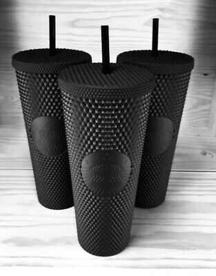 Fall 2019 Starbucks Matte Black Studded Tumbler Cup Limited Edition SOLD OUT!!!