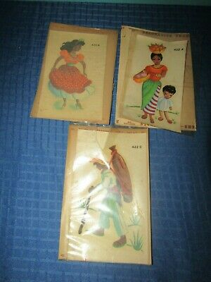 Mexican Duro Decal  Lot of 3 1950's Lot