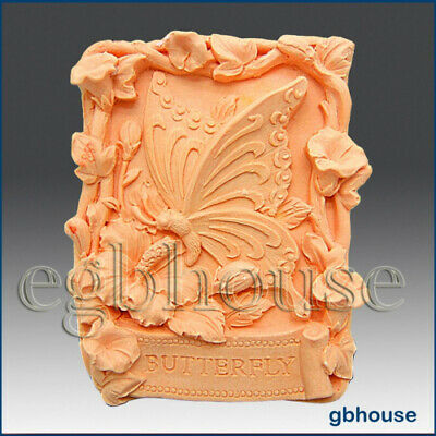 Garden Butterfly- Detail of High Relief Sculpture - Silicone