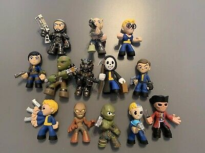 Lot of 13 Fallout Funko Mystery Minis