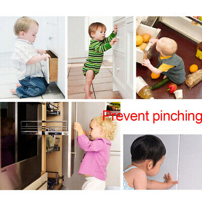 AU Baby Kid Child Safety Lock Proof Cabinet Window Fridge Cupboard Door Drawer