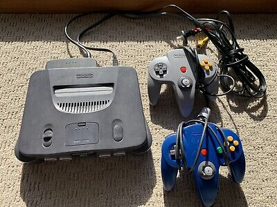 Nintendo 64 Console Complete With All Cords 2 Controllers and Free Postage