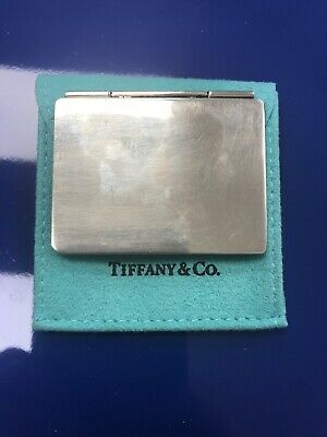 Vintage Tiffany & Co. Sterling Silver .925 Double Picture Frame Photos