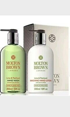 Molton Brown Lime & Patchouli Hand Wash and Lotion Set 300ml
