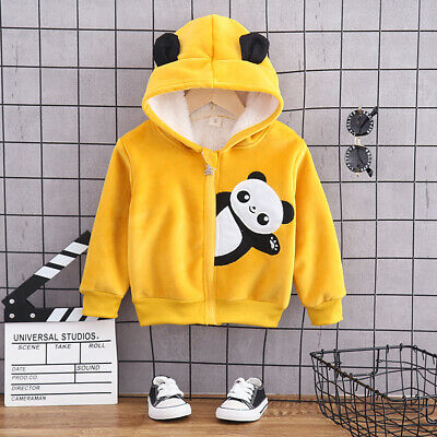 IENENS Toddler Kids Boys Tops Clothes Clothing Winter Fashion Cartoon Outwear