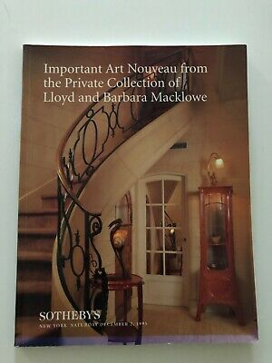 Sotheby's Auction Catalog, Dec. 2, 1995 - Art Nouveau from Macklowe Collection