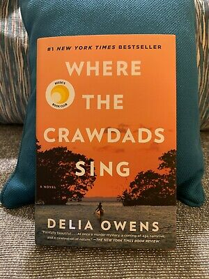 Where The Crawdads Sing by Delia Owens New Hardcover Book ISBN 978-0-7352-1909-0