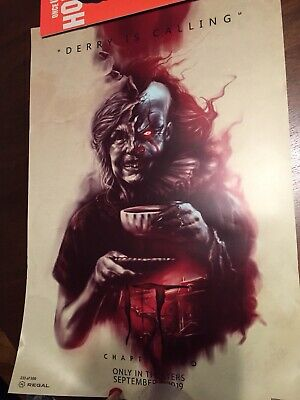 It Chapter Two -2 - Derry Pennywise Promo Poster From Regal Cinema Exclusive