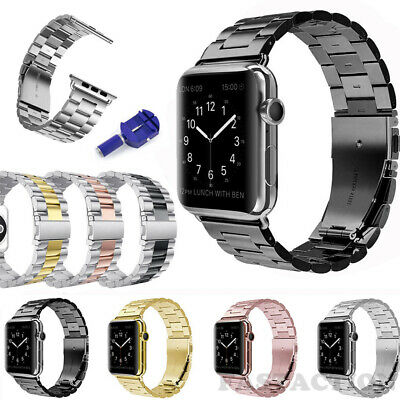 For Apple Watch Series 5/4/3/2 iWatch Strap Stainless Steel Watch Band 40/44mm