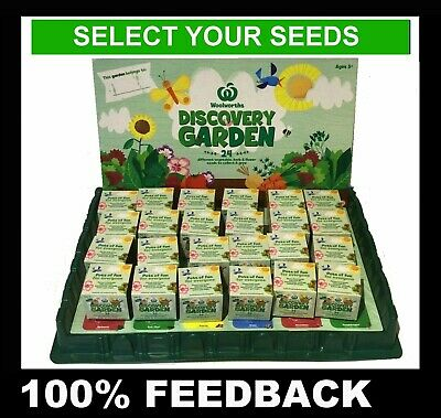 WOOLWORTHS Discovery Little Garden - Pick & Choose your Seed Pot Plant or Tray