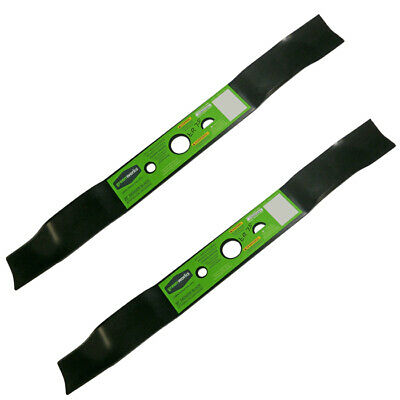GreenWorks 2 Pack Of Genuine OEM Replacement Blades # 29172-2PK