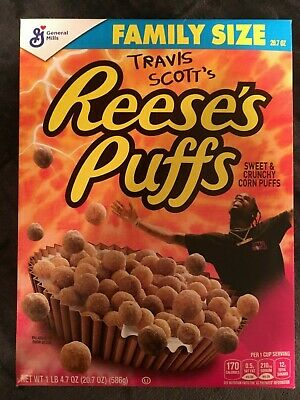 Travis Scott's Reese's Puff Cereal - Special Edition - Cactus Jack - Sealed