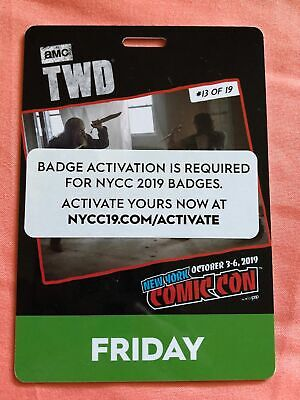 NYCC-New York COMIC CON (Activate) Friday Fri Adult Badge