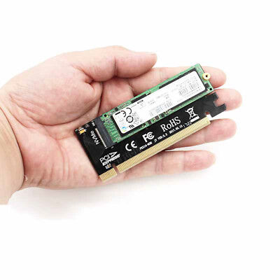 M.2 NVMe SSD NGFF TO PCIE 3.0 X16 X4 Adapter M Key Interface Card Full Speed N7Z