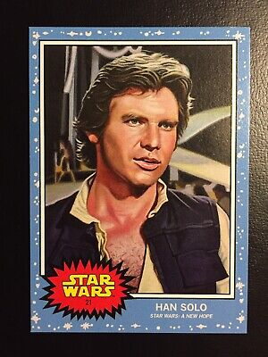 Han Solo -2019 Star Wars A New Hope- Topps Living Set #21 - 1977 Harrison Ford