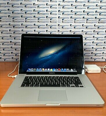 "Apple MacBook Pro 15.4 inch Laptop - Intel ""Core i7"" processor 8 GB RAM"