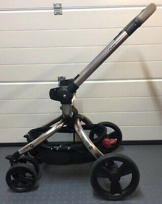 Genuine Mothercare Orb - Rose Gold Tint Chassis Pram Frame + Wheels