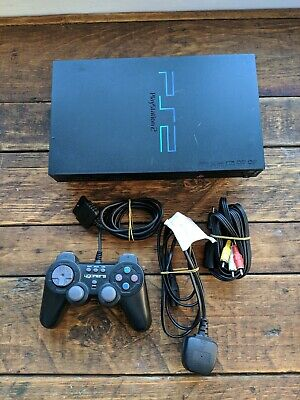 Sony PAL Phat PlayStation 2 PS2 Console and Controller Bundle ~ Complete Set Up