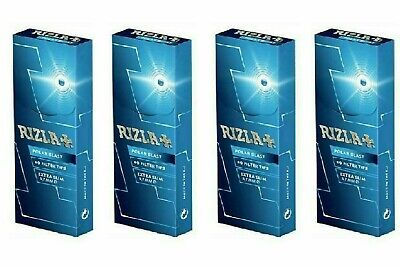 4 X Rizla Polar Blast Extra Slim Menthol (5.7Mm), 60 Filter Tips Per Box