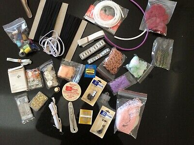 Sewing And Craft Items Assorted Lot Some Vintage