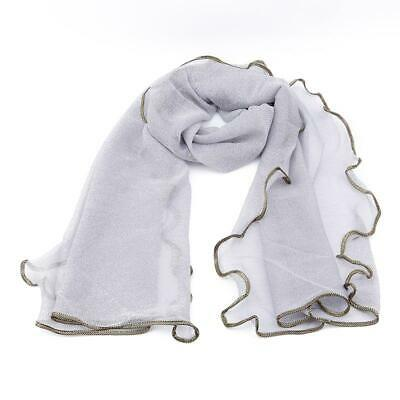 Womens Candy Color Shawl Girl long Scarf Soft Chiffon Wrap Polyester Scarves T