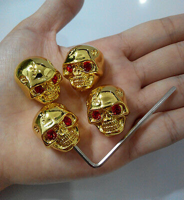 4Pcs Skull Head Volume Tone Control Knob for Gibson LP Wrench