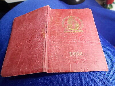 DIARY 1956 Savings Bank Of South Australia Used Social History Small  📌OFFERS
